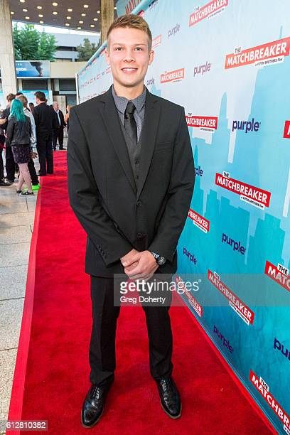 """Actor Alex Jackson arrives for the Red Carpet Premiere Of Stadium Media's """"The Matchbreaker"""" at the ArcLight Cinemas Cinerama Dome on October 4, 2016..."""