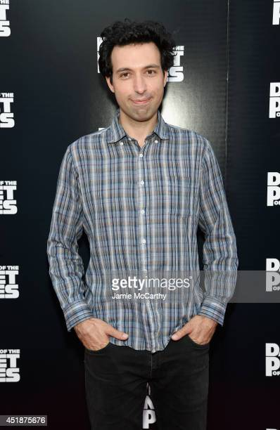 Actor Alex Karpovsky attends the Dawn Of The Planets Of The Apes premiere at Williamsburg Cinemas on July 8 2014 in New York City