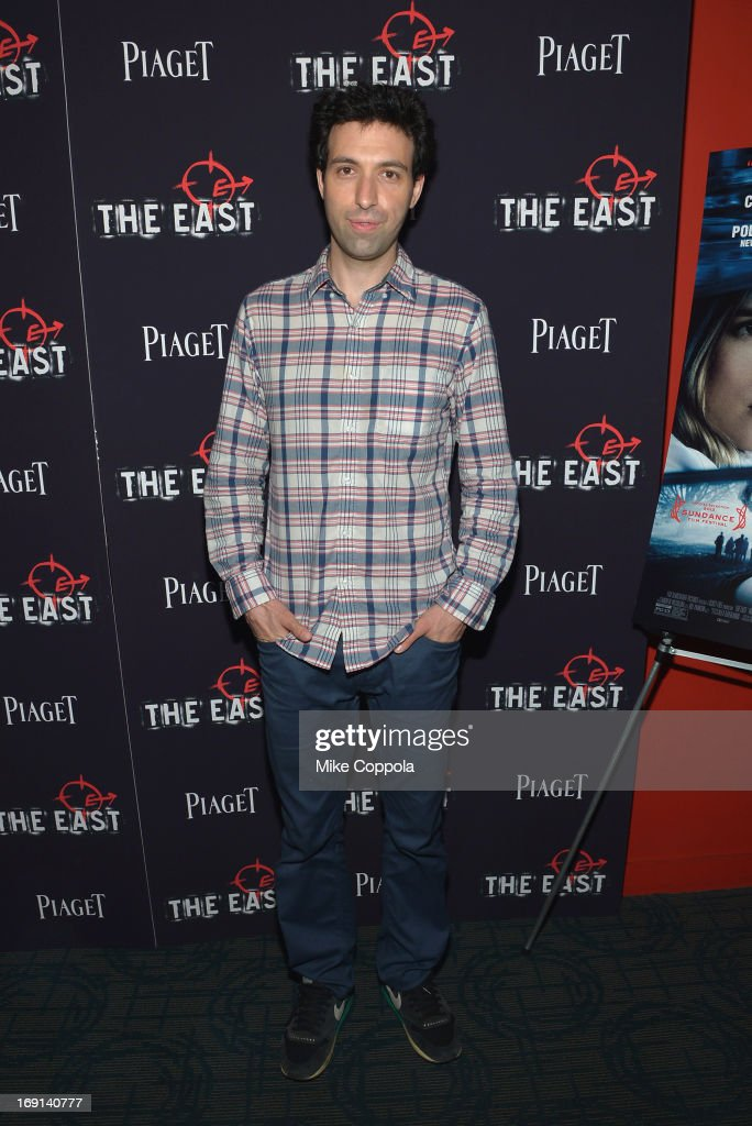 Actor Alex Karpovsky attends the New York premiere of 'The East' at Sunshine Landmark on May 20, 2013 in New York City.