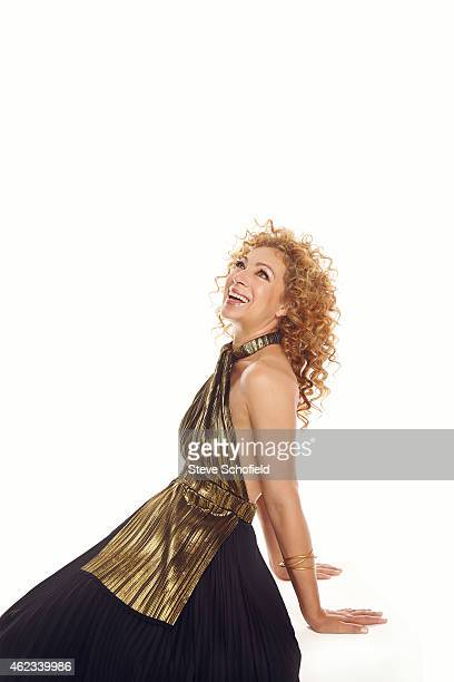 Actor Alex Kingston is photographed for You magazine on June 9 2014 in New York United States