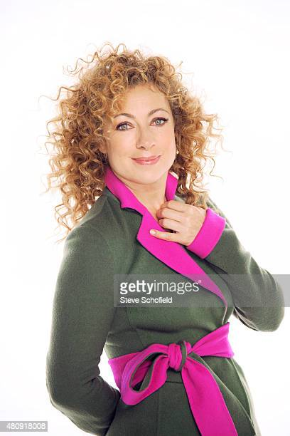 Actor Alex Kingston is photographed for You magazine on June 9 2014 in New York City