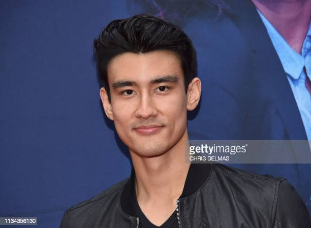 US actor Alex Landi arrives for BBC America and AMC's Killing Eve season 2 premiere at the Arclight on April 1 2019 in Hollywood
