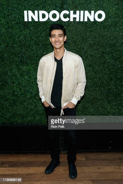 Actor Alex Landi attends Indochino Los Angeles Spring/Summer '19 Launch Party at SkyBar at the Mondrian Los Angeles on March 13 2019 in West...