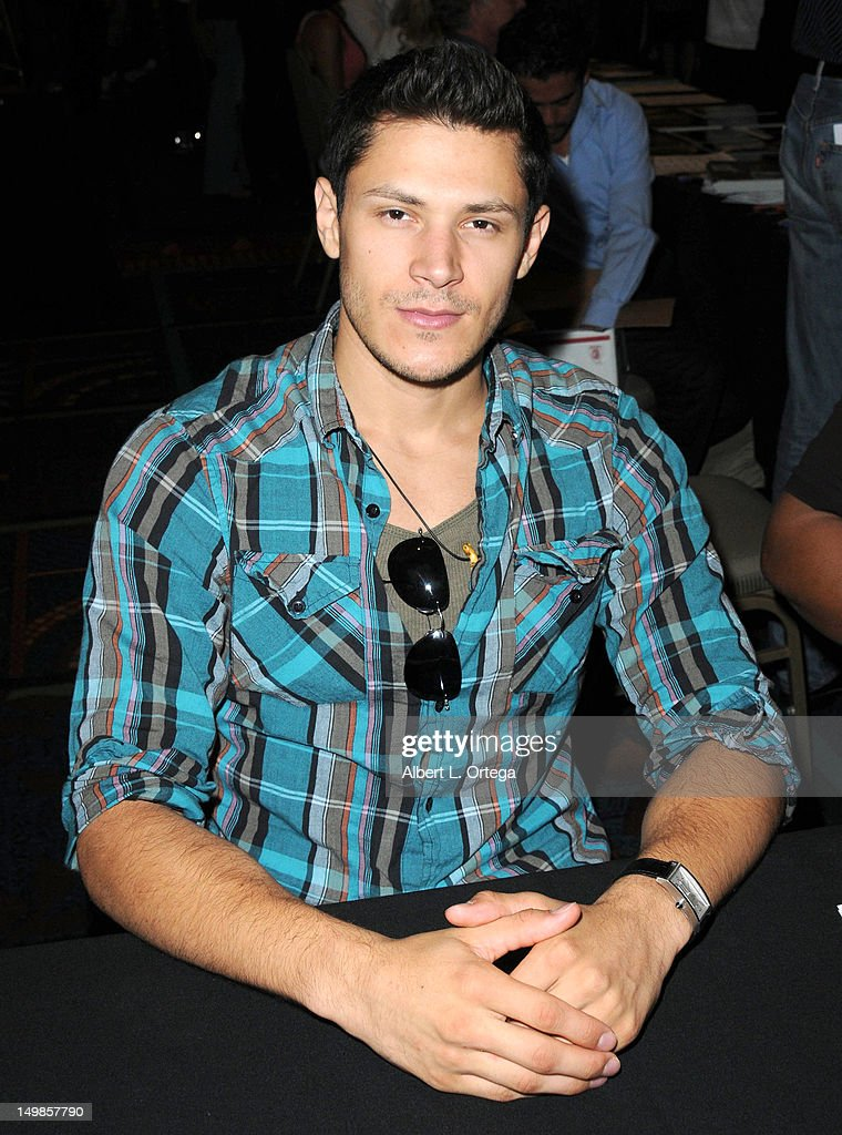 Actor Alex Meraz participates in The Hollywood Show held at Burbank Airport Marriott Hotel & Convention Center on August 5, 2012 in Burbank, California.