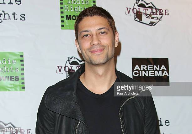 Actor Alex Moglan attends the premiere of 'Miles To Go' at Arena Cinema Hollywood on May 15 2015 in Hollywood California