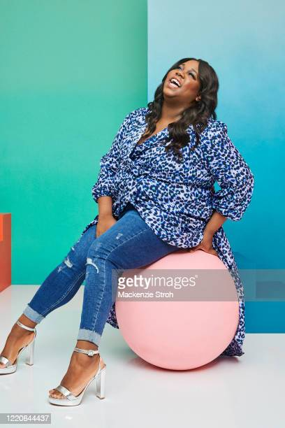 Actor Alex Newell is photographed for Entertainment Weekly Magazine on February 27, 2020 at Savannah College of Art and Design in Savannah, Georgia....