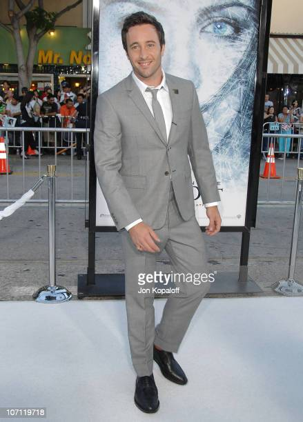 Actor Alex O'Loughlin arrives at the Los Angeles Premiere Whiteout at Mann Village Theatre on September 9 2009 in Westwood California