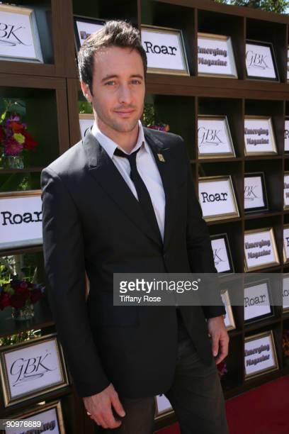 Actor Alex O'Loughlin attends Day 2 of GBK's 2009 Emmy Gift Lounge on September 19 2009 in Beverly Hills California