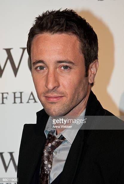 Actor Alex O'Loughlin attends IWC Michael Muller Watch Collection Launch Party at Milk Studios on November 11 2009 in Hollywood California