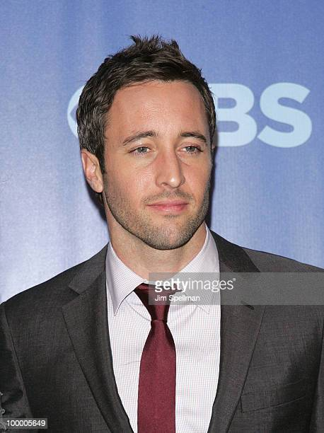 Actor Alex O'Loughlin attends the 2010 CBS Upfront at The Tent at Lincoln Center on May 19 2010 in New York City