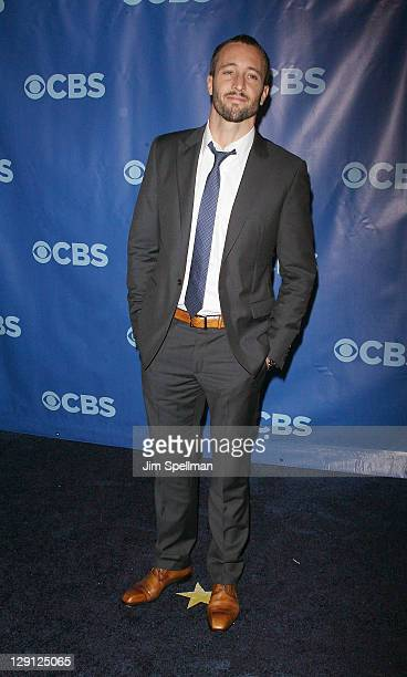 Actor Alex O'Loughlin attends the 2011 CBS Upfront at The Tent at Lincoln Center on May 18 2011 in New York City