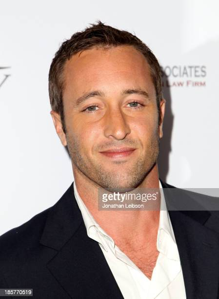 Actor Alex O'Loughlin attends the 2nd Annual Australians in Film Awards Gala at Intercontinental Hotel on October 24 2013 in Beverly Hills California