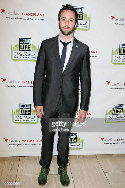 Actor Alex O'loughlin attends the Donate Life Hollywood Film Festival at The Paley Center for Media on June 11 2010 in Beverly Hills California