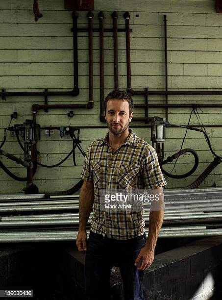 Actor Alex O'Loughlin is photographed for Entertainment Weekly Magazine on July 1 2011 in Honolulu Hawaii