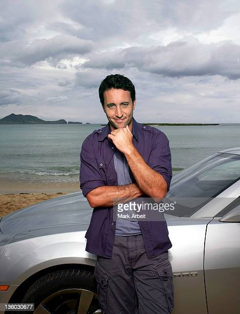 Actor Alex O'Loughlin is photographed for Honolulu Magazine on March 1 2011 in Honolulu Hawaii