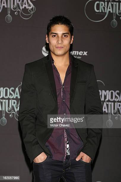 Actor Alex Perea attends the 'Beautiful Creatures' Mexico City premiere at Cinemex Antara on February 18 2013 in Mexico City Mexico