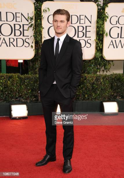 Actor Alex Pettyfer arrives at the 68th Annual Golden Globe Awards held at The Beverly Hilton hotel on January 16 2011 in Beverly Hills California