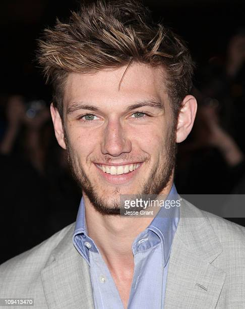 Actor Alex Pettyfer arrives at the 'Beastly' Los Angeles Premiere at The Grove on February 24 2011 in Los Angeles California