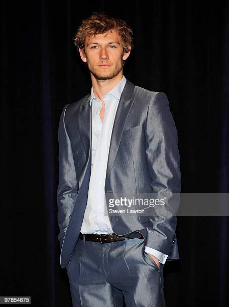 Actor Alex Pettyfer arrives at the CBS Films presentation to promote his upcoming movie 'Beastly' at Paris Las Vegas during ShoWest the official...