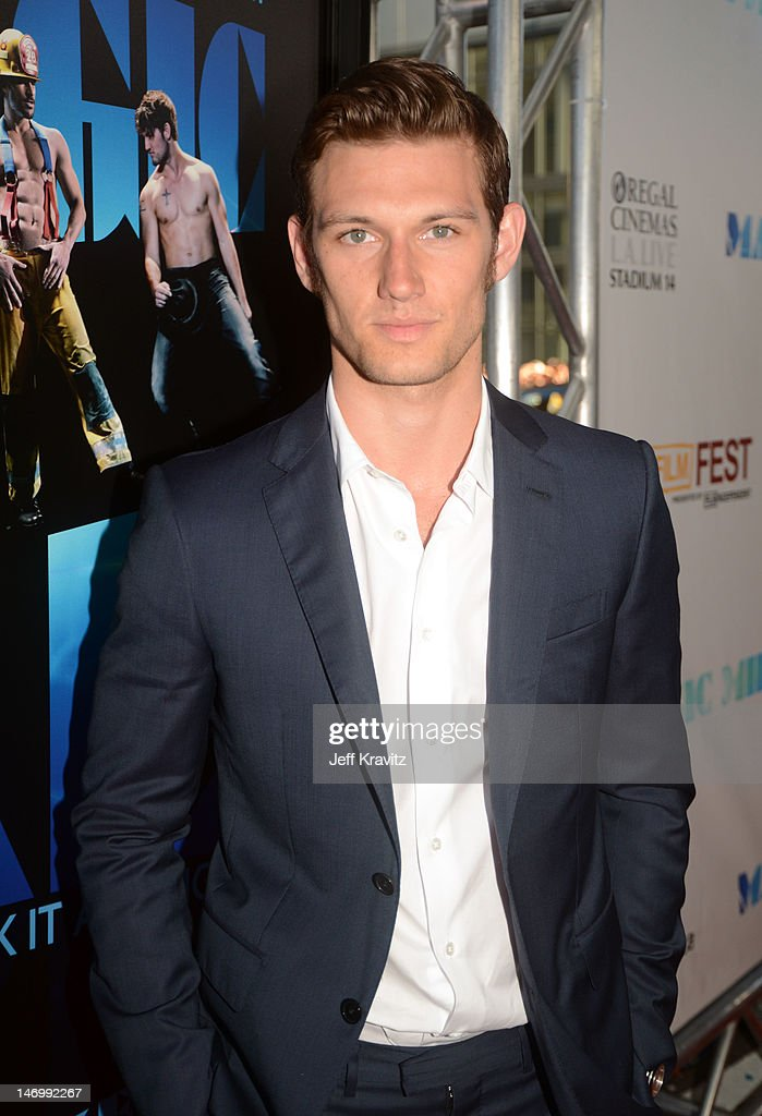 Actor Alex Pettyfer arrives at the closing night gala premiere of 'Magic Mike' at the 2012 Los Angeles Film Festiva held at Regal Cinemas L.A. Live on June 24, 2012 in Los Angeles, California.