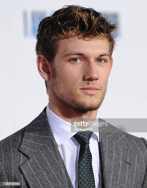 Actor Alex Pettyfer arrives at the Los Angeles Premiere 'I Am Number Four' at Mann's Village Theatre on February 9 2011 in Westwood California