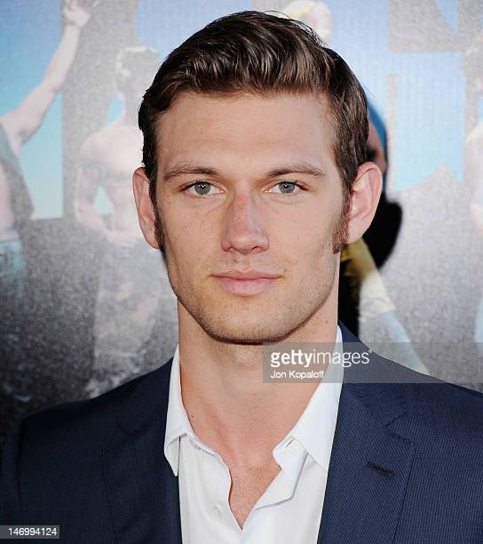 """Actor Alex Pettyfer arrives at the """"Magic Mike"""" Closing Night Premiere at the 2012 Los Angeles Film Festival at Regal Cinemas L.A. Live on June 24,..."""