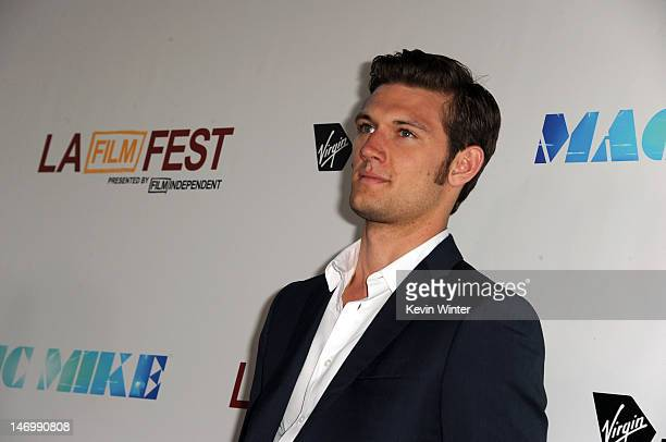 Actor Alex Pettyfer arrives at the premiere of Warner Bros Pictures' 'Magic Mike' during the 2012 Los Angeles Film Festival at Regal Cinemas LA Live...