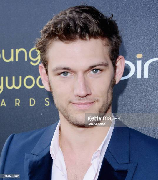 Actor Alex Pettyfer arrives at the Young Hollywood Awards at Hollywood Athletic Club on June 14 2012 in Hollywood California