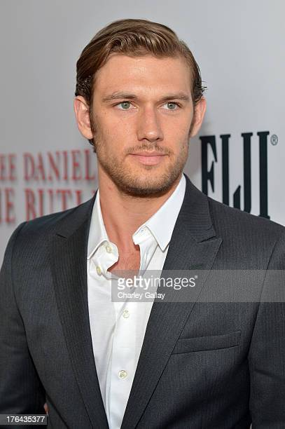 Actor Alex Pettyfer attends LEE DANIELS' THE BUTLER Los Angeles premiere hosted by TWC Budweiser and FIJI Water Purity Vodka and Stack Wines held at...