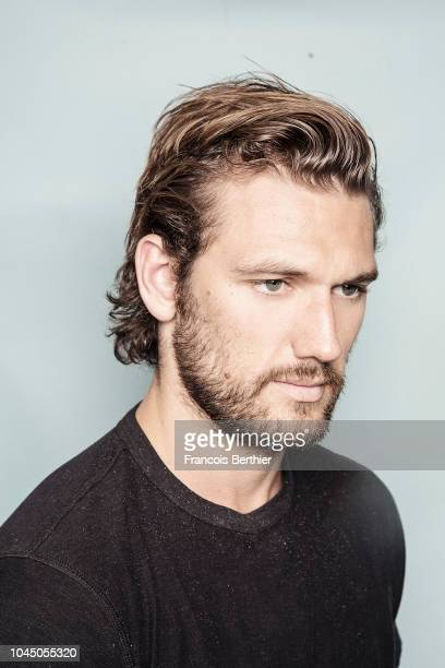 Actor Alex Pettyfer is photographed for Self Assignment on June 2018 in Paris France