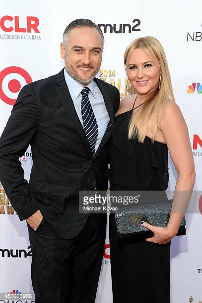 Actor Alex Quinn and Ivanna Quinn attend the 2014 NCLR ALMA Awards at the Pasadena Civic Auditorium on October 10 2014 in Pasadena California