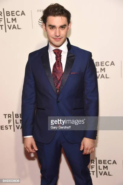 Actor Alex Rich attends 'Genius Picasso' during the 2018 Tribeca Film Festival at BMCC Tribeca PAC on April 20 2018 in New York City