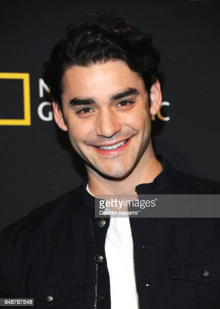 Actor Alex Rich attends National Geographic Unveils The Genius Studio on April 19 2018 in New York City