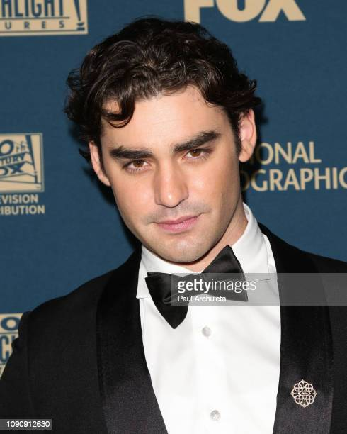 Actor Alex Rich attends the FOX FX and Hulu 2019 Golden Globe Awards after party at The Beverly Hilton Hotel on January 06 2019 in Beverly Hills...