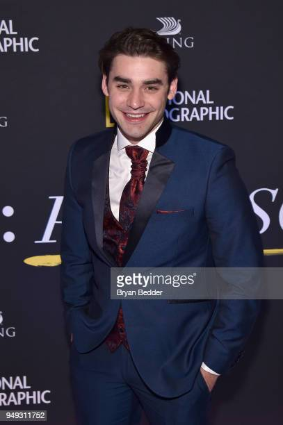 Actor Alex Rich attends the National Geographic 'Genius Picasso' Tribeca Film Festival after party at The Genius Studio 100 Avenue of the Americas in...