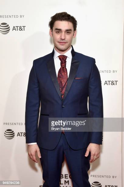 Actor Alex Rich attends the National Geographic premiere screening of 'Genius Picasso' on April 20 2018 at the Tribeca Film Festival in New York City...