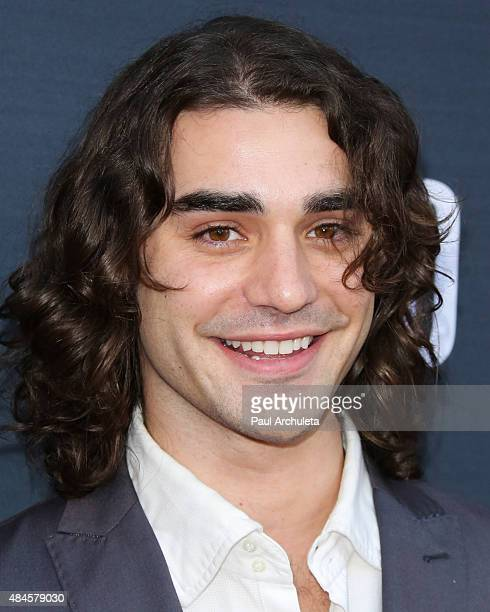 Actor Alex Rich attends the premiere of Amazon's series 'Hand Of God' at Ace Theater Downtown LA on August 19 2015 in Los Angeles California