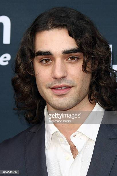 Actor Alex Rich attends the premiere of Amazon's series 'Hand Of God' held at the Ace Theater Downtown LA on August 19 2015 in Los Angeles California