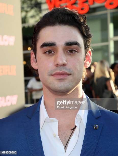 Actor Alex Rich attends the premiere of Netflix's 'GLOW' at The Cinerama Dome on June 21 2017 in Los Angeles California