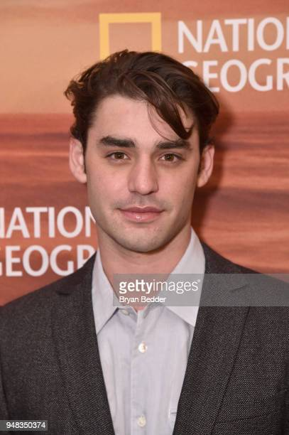 Actor Alex Rich of 'Genius Picasso' attends National Geographic's FURTHER Front immersive experience where the network took over a SoHo townhouse to...