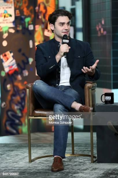 Actor Alex Rich visits Build Studio to discuss National Geographic's anthology 'Genius Picasso' on April 19 2018 in New York City
