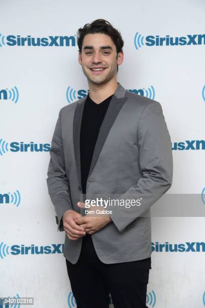 Actor Alex Rich visits SiriusXM Studios on April 20 2018 in New York City