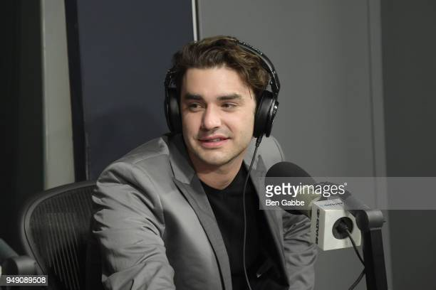 Actor Alex Rich visits 'Sway in the Morning' hosted by SiriusXM's Sway Calloway on Eminem's Shade 45 at SiriusXM Studios on April 20 2018 in New York...