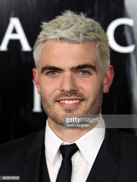 Actor Alex Roe attends a screening of Paramount Pictures' 'Rings' at Regal LA Live Stadium 14 on February 2 2017 in Los Angeles California