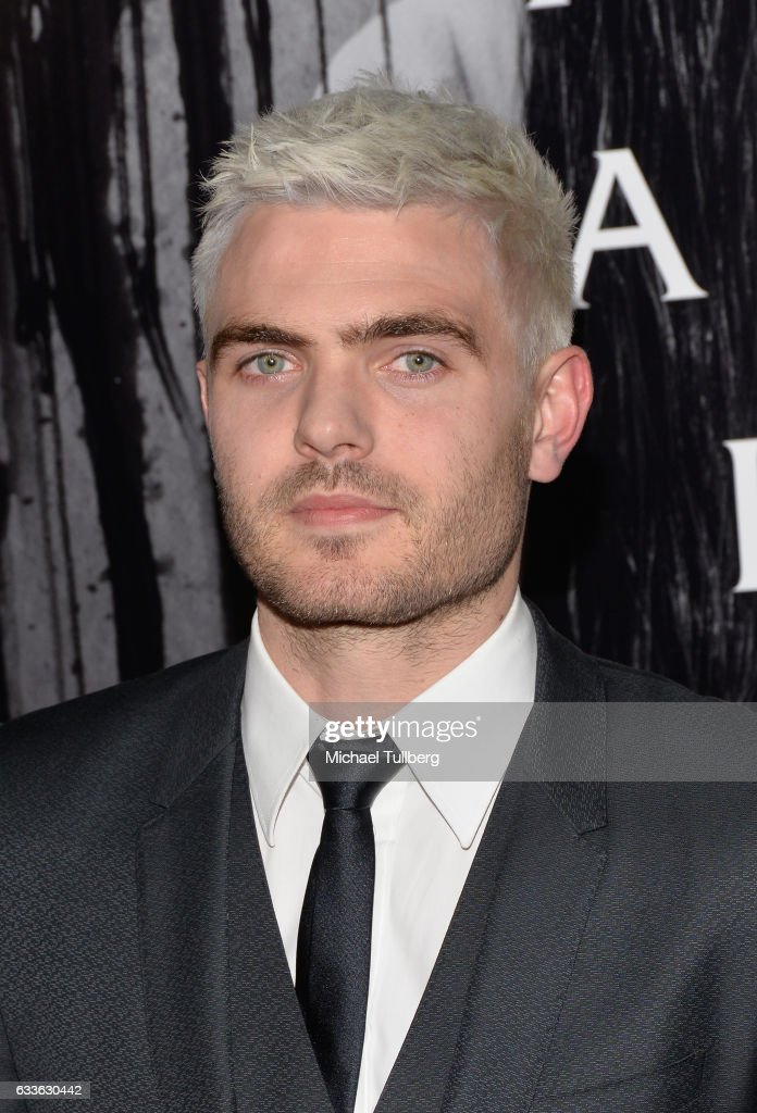 Actor Alex Roe attends a screening of Paramount Pictures' 'Rings' at Regal LA Live Stadium 14 on February 2, 2017 in Los Angeles, California.