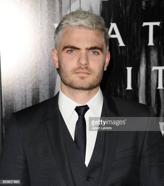 Actor Alex Roe attends a screening of 'Rings' at Regal LA Live Stadium 14 on February 2 2017 in Los Angeles California