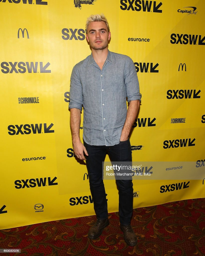 Actor Alex Roe attends Imperative Entertainment's 'Hot Summer Nights' SXSW world premiere at Paramount Theatre on March 13, 2017 in Austin, Texas.