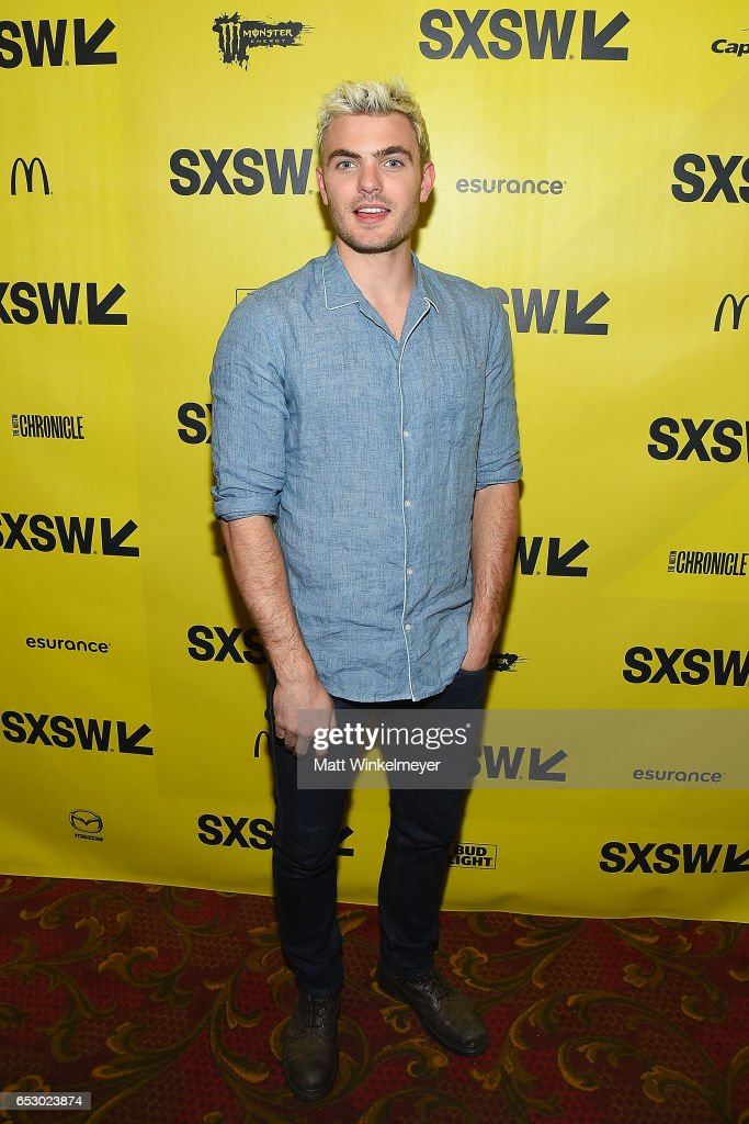 Actor Alex Roe attends the 'Hot Summer Nights' premiere 2017 SXSW Conference and Festivals on March 13, 2017 in Austin, Texas.