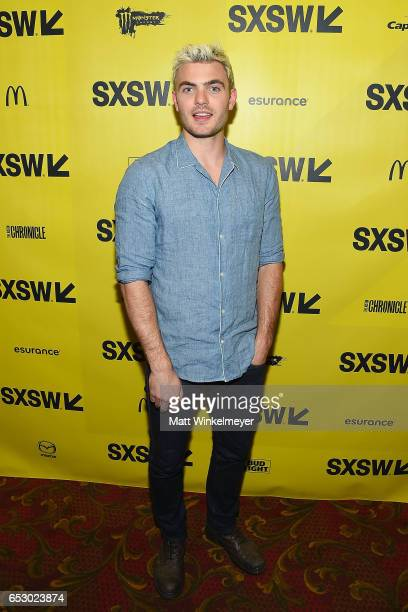 Actor Alex Roe attends the 'Hot Summer Nights' premiere 2017 SXSW Conference and Festivals on March 13 2017 in Austin Texas