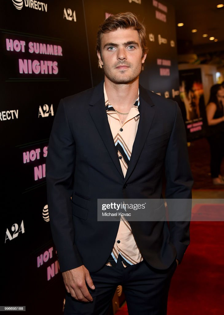 Actor Alex Roe attends the Los Angeles Special Screening of 'Hot Summer Nights' on July 11, 2018 in Los Angeles, California.